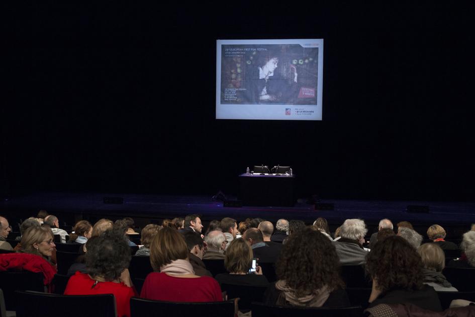 """Premiers Plans 2014, lecture du scénario """"Mauvais oeil"""" de Laurent Teyssier"""