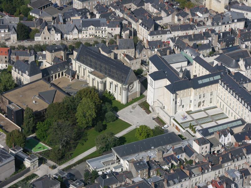 Jardin Du Musee Des Beaux Arts Angers Fr