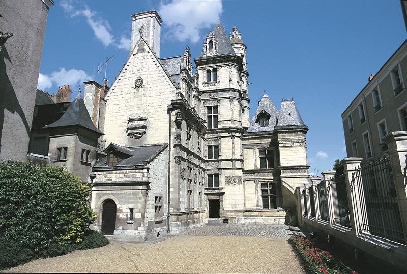 Cour de l'hôtel de Pincé