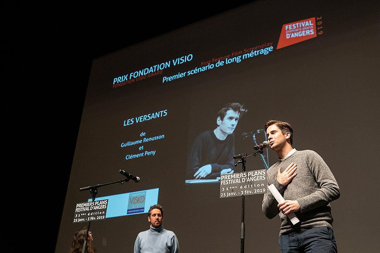 Prix fondation Visio, premier scénario de long-métrage: Les Versants, de Guillaume Renusson et Clément Peny.