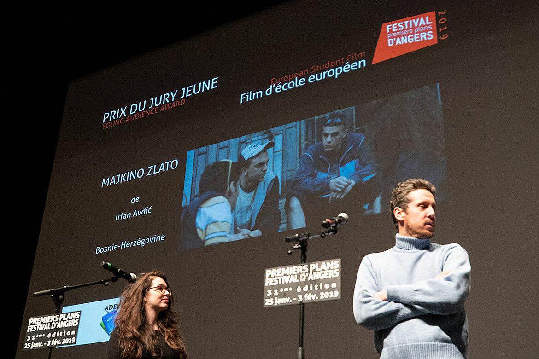 Prix du jury jeunes, films d'école européens: Majkino Zlato, d'Irfin Avdic.