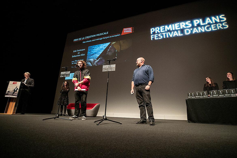 Prix de la création musicale, courts-métrages: Erik Treimann et Sebastian Kass, pour The Animal.