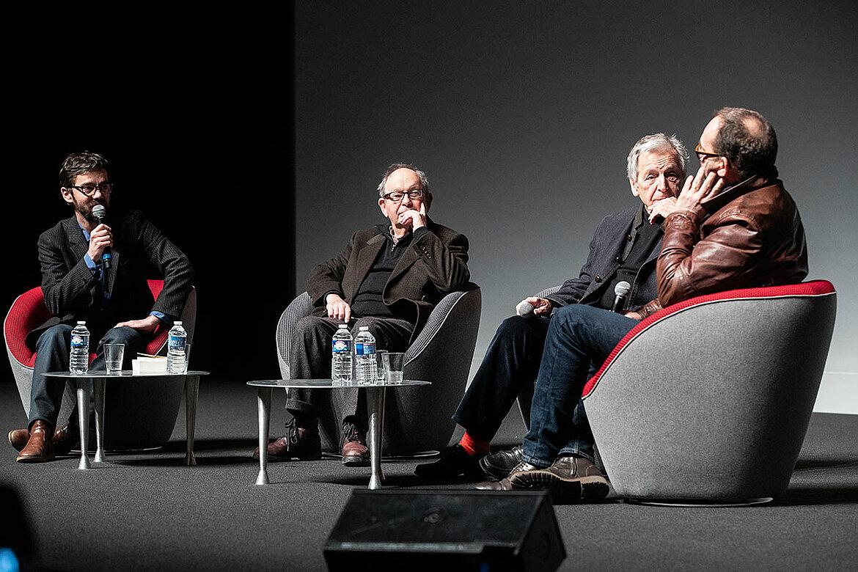 Rencontre avec le scénariste Jean-Claude Grumberg, le réalisateur Costa-Gavras et l'acteur Olivier Gourmet.