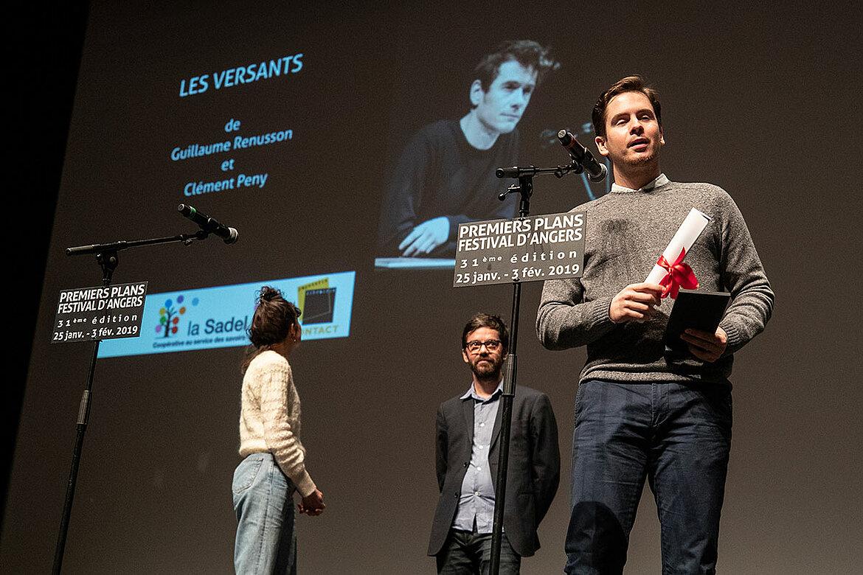 Prix du public, scénario de long-métrage: Les Versants, de Guillaume Renusson et Clément Peny.