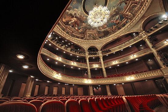 Photo d'illustration de la salle de spectacle du Grand Théâtre.