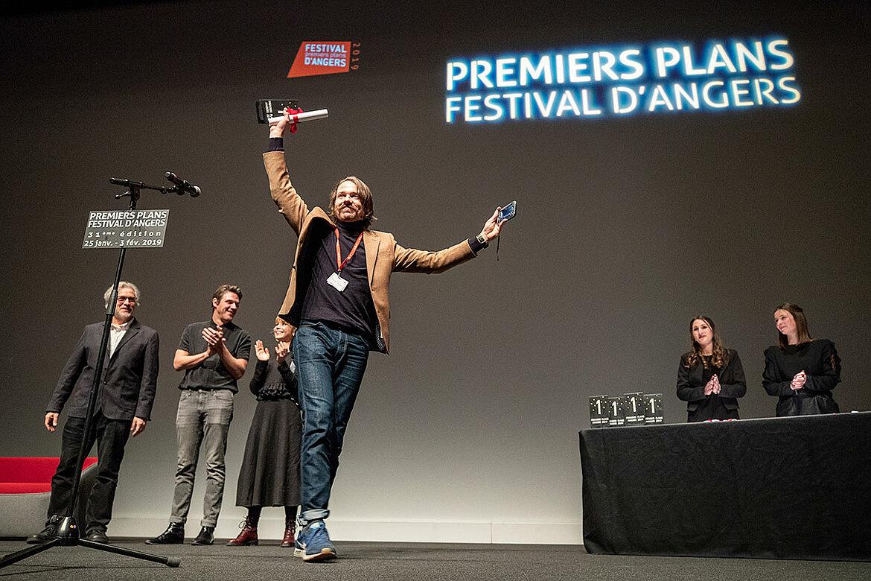 Grand prix du jury, courts-métrages européens: Weightlifter, de Dmytro Sukholytkyy-Sobchuk.