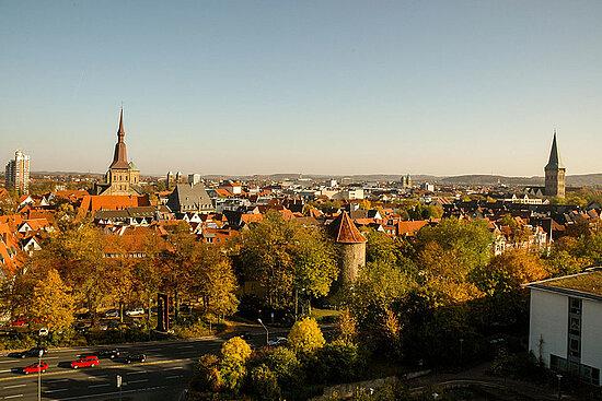 Vue d'Osnabrück, ville jumelle d'Angers