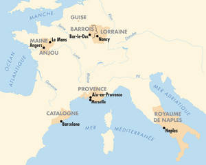 Carte des territoires.© Editions du patrimoine.Centre des monuments nationaux / Atelier des Editions du patrimoine.Marc Brugier.