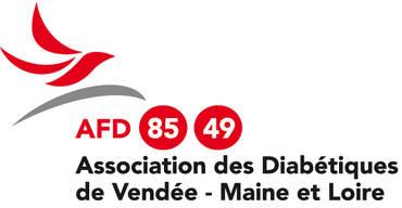 Logo AFD 85 49 - ASS. FRANCAISE DES DIABETIQUES