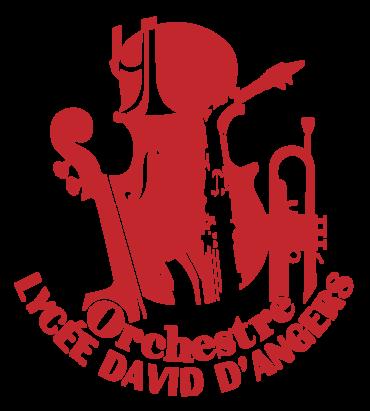 Logo OLDA - ORCHESTRE  DU LYCÉE DAVID D'ANGERS