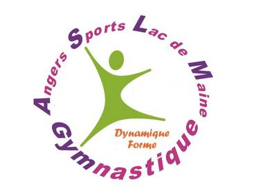 Logo ANGERS SPORTS LAC DE MAINE GYMNASTIQUE