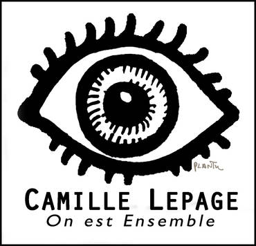 Logo CAMILLE LEPAGE - ON EST ENSEMBLE