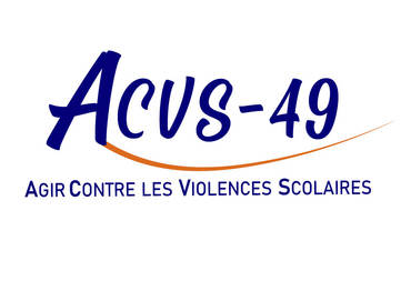 Logo ACVS49 -  ASS. CONTRE LES VIOLENCES SCOLAIRES 49