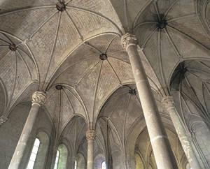 Voûtes de l'église Saint-Serge © Ville d'Angers. Cliché Marc Chevalier.