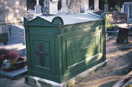 Tombe de René Bougère. Copyright Ville d'Angers © Cliché Sylvain Bertoldi