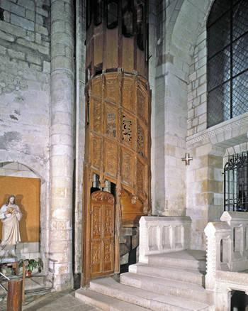 Maître-autel : GIRAUD, F. LASA © Inventaire général - ADAGP, 1980.