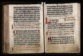 Psautier de Mayence.Angers, Bibl. mun., manuscrit 20 © Cliché ville d'Angers.