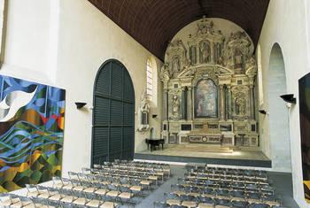 Vue générale de la chapelle© Ville d'Angers- Marc Chevalier.