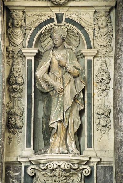 Maître-autel : statue de sainte Ursule © Ville d'Angers - Marc Chevalier
