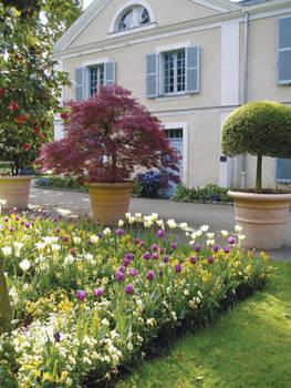 Le jardin des Essais © Ville d'Angers - Cliché Direction Parcs, Jardins et Paysages. Lydia Foucher.