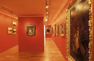 Sala de Bellas Artes, cabinetes suspendidos © Municipalidad de Angers. Thierry Bonnet