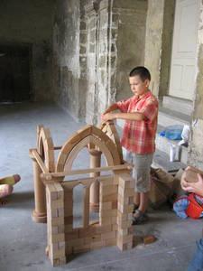 Voûte gothique © Service éducatif, Angers, Ville d'art et d'histoire.