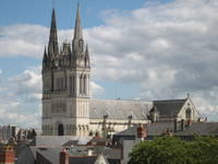 Cathédrale Saint-Maurice© Service éducatif, Angers, Ville d'art et d'histoire.