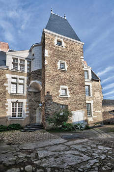 Logis d'Ardanne, Hôtel de Tinténiac, Ancienne école chrétienne du Tertre, Clichés S.Vitard et F.Chobard