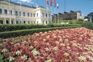 Vue générale de l'hôtel de Ville. © Ville d'Angers - Cliché Patrice Campion
