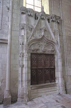 Le Sacrarium (XVe siècle) © Ville d'Angers. Cliché Marc Chevalier.
