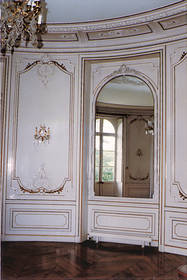 Vue du salon au rez-de-chaussée © Ville d'Angers.Cliché Stéphanie Vitard