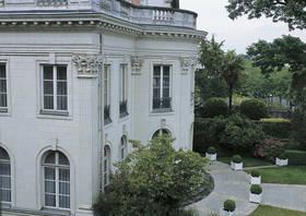 Façade sur jardin © Ville d'Angers. Cliché Thierry Bonnet.