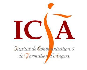 Logo INSTITUT DE COMMUNICATION ET DE FORMATION D'ANGERS
