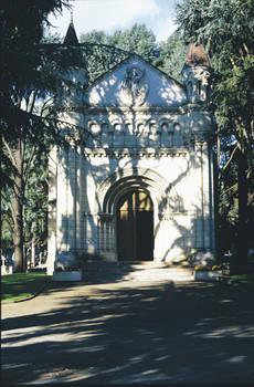 Chapelle du cimetière par Ernest Dainville. Copyright Ville d'Angers © Cliché Sylvain Bertoldi.