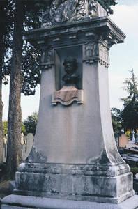 Tombe de Jules-Eugène Lenepveu.Copyright Ville d'Angers © Cliché Sylvain Bertoldi.