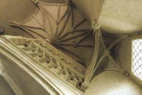 Logis Barrault, voûte du grand escalier © Cl. Inv. général F. Lasa