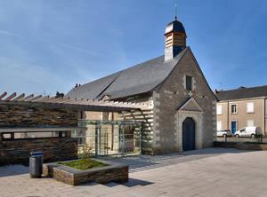 Portail de la chapelle Saint-Lazare©Frédéric Chobard