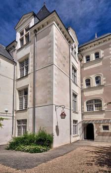Cour arrière de l'hôtel Lancreau de Bellefonds © Frédéric Chobard