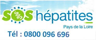 Logo SOS HEPATITES PAYS DE LA LOIRE - ANTENNE MAINE ET LOIRE