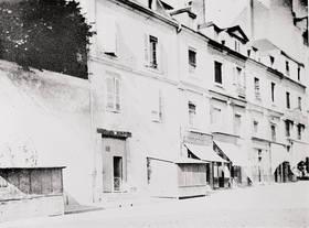 Façade d'entrée. Photographie, début XXe siècle