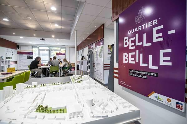 S'informer sur la rénovation urbaine du quartier à Belle-Beille plage