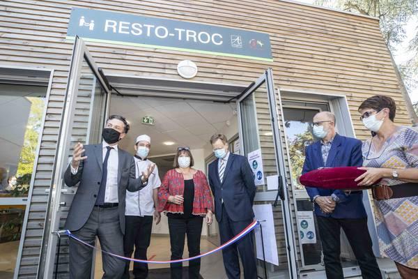 Resto-troc a rouvert ses portes dans des locaux agrandis