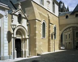 Façade sur la rue du Musée © Ville d'Angers. Cliché Pierre David.