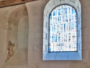 Vitrail d'Eric Boucher © Frédéric Chobard