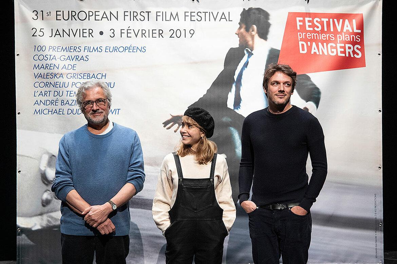 Le jury courts-métrages: Michael Dudok de Wit, Alice Isaaz, Samiel Theis.