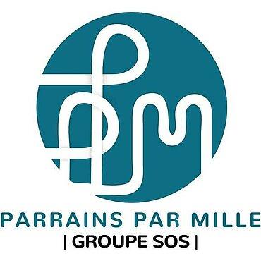 Logo PARRAINS PAR MILLE PARRAINAGE D'ENFANTS EN FRANCE - ANTENNE LOCALE