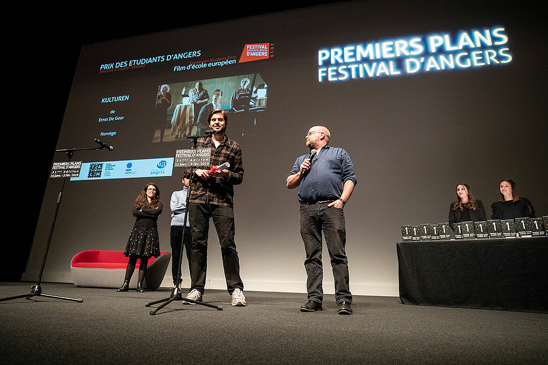 Prix des étudiants d'Angers, films d'école européens: Kulturen, d'Ernst de Geer.