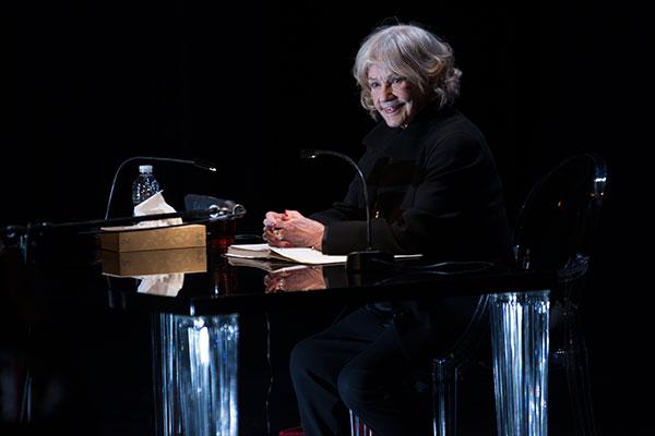 Hommage à Jeanne Moreau en ouverture des Ateliers d'Angers
