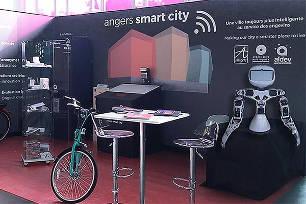 Une appli pour Angers Smart City