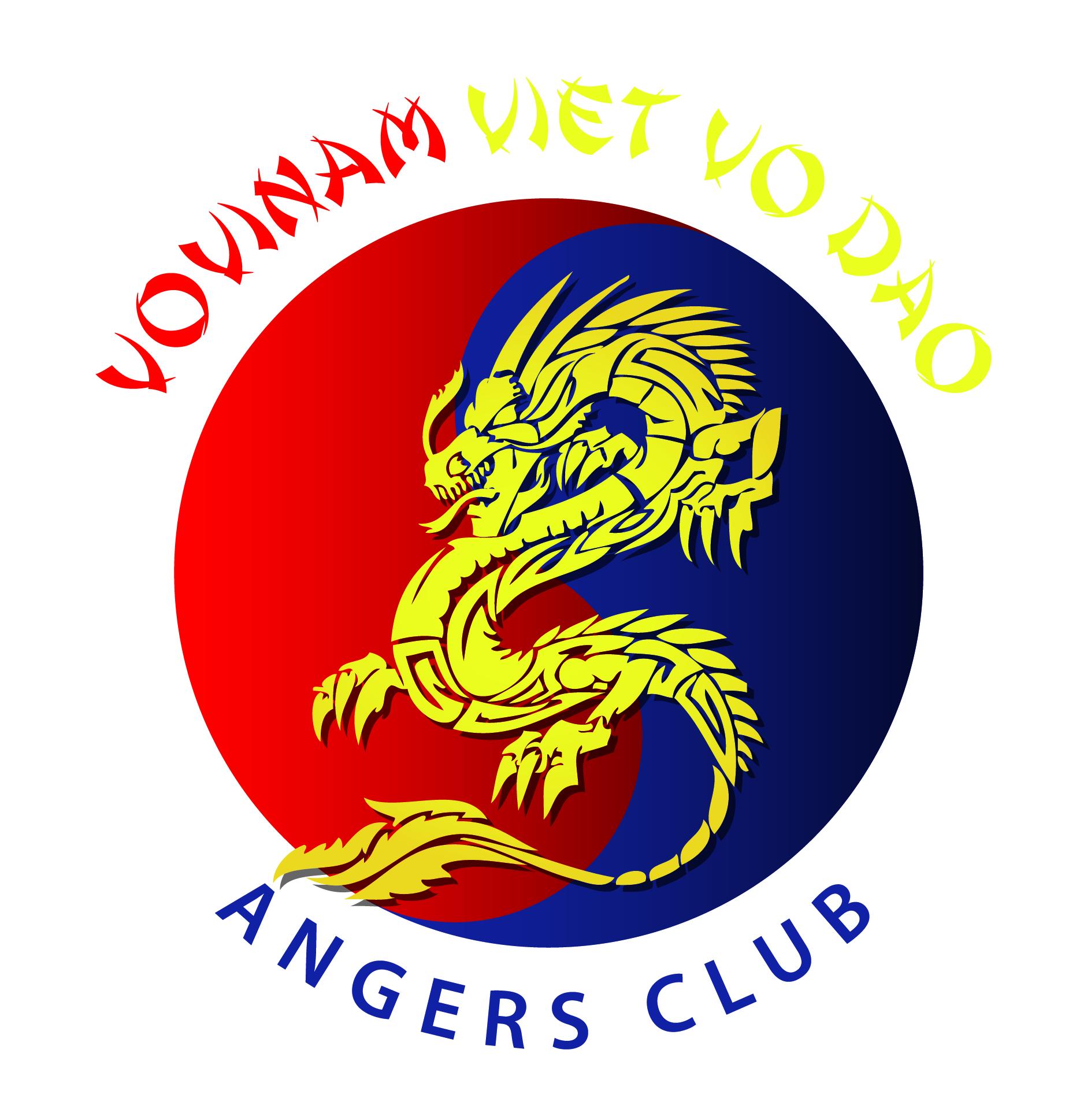 Logo VOVINAM ANGERS CLUB VIET VO DAO